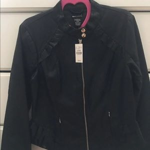 Faux Leather Jacket from wet seal